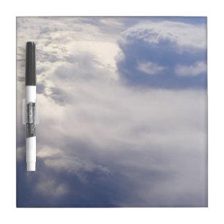 Wolken trocknen Löschen-Brett Trockenlöschtafel