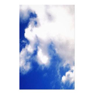 Wolken u. blauer Himmel Briefpapier