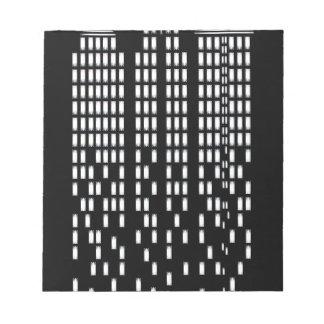 Wolkenkratzer Memo Block