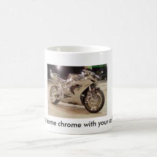 Wollen Sie etwas Chrom mit Ihrem Kaffee Tasse