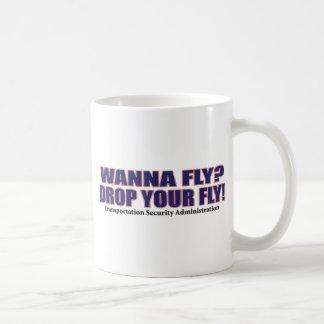 Wollen Sie - Fliege Kaffeetasse