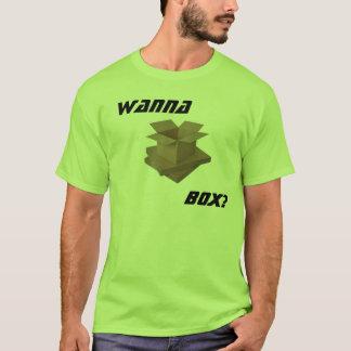 Wollen Sie, um zu boxen? T-Shirt