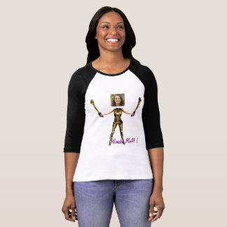 Wonder Fairy Princess, Swords - Insert YOUR Foto- T-Shirt