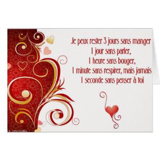 words of love karte