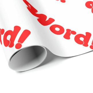 Wort! Geschenkpapier