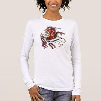 Wotherspoon Tartan-Einhorn Langärmeliges T-Shirt