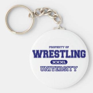 Wrestling-Universität Schlüsselanhänger