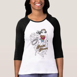 Wunder-Frau blühen T-Shirt