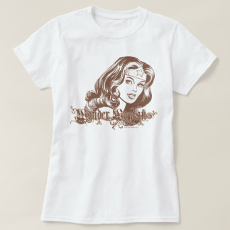Wunder-Frau Brown T-Shirt