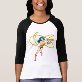 Wunder-Frau hält Lasso 1 T-Shirt