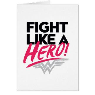 Wunder-Frau - Kampf wie ein Held Karte