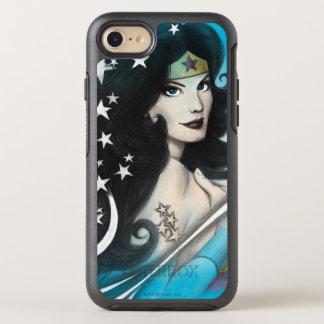 Wunder-Frau und Sterne OtterBox Symmetry iPhone 8/7 Hülle