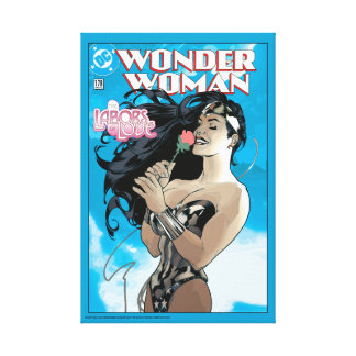 Wunder-Frauen-Comic-Abdeckung #178 Leinwanddruck
