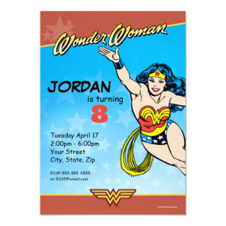 Wunder-Frauen-Geburtstag DC-Comic-| Karte