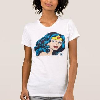 Wunder-Frauen-Gesicht T-Shirt