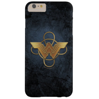 Wunder-Frauen-Goldsymbol über Lasso Barely There iPhone 6 Plus Hülle