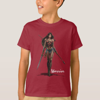 Wunder-Frauen-Kampf-Bereite Comic-Kunst T-Shirt