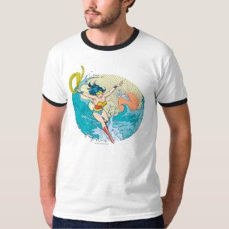 Wunder-Frauen-Ozean-Himmel T-Shirt