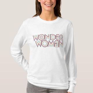 Wunder-Frauen-Regenbogen-Logo T-Shirt
