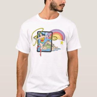 Wunder-Frauen-Regenbogen T-Shirt