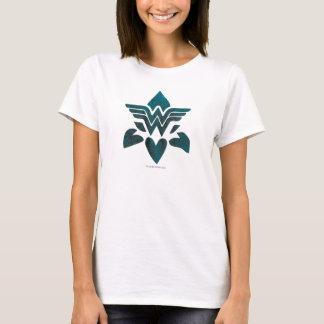 Wunder-Frauen-Schmutz-Logo T-Shirt