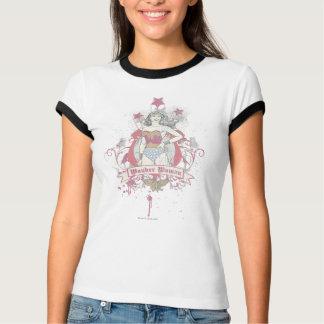 Wunder-Frauen-Shooting Stars T-Shirt