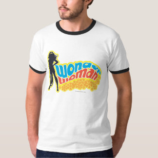 Wunder-Frauen-Silhouette T-Shirt