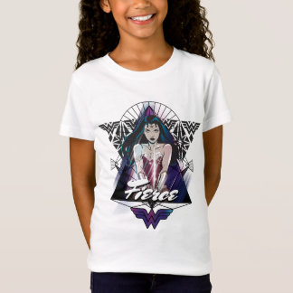 Wunder-Frauen-Stammes- Dreieck T-Shirt
