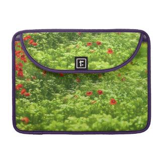 Wunderbare Mohnblumen-Blumen V - Wundervolle Sleeve Für MacBooks