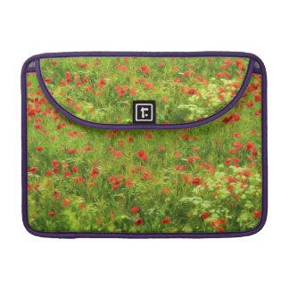 Wunderbare Mohnblumen-Blumen VII - Wundervolle Sleeve Für MacBooks