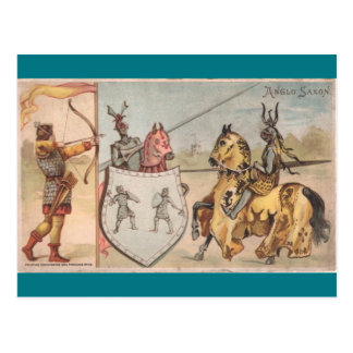 Wunderbare Ritter Postkarte