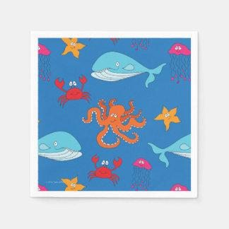 Wunderlich unter der Seecocktail-Serviette, Papierserviette