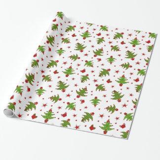 Wunderliche Bäume Geschenkpapier