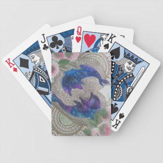 Wunderliche Delphine Bicycle Spielkarten