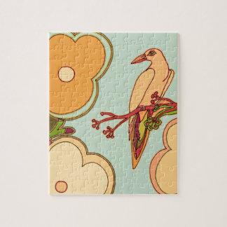 Wunderliche Vögel (irgendeine Farbe, die Sie! Puzzle