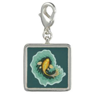 Wunderlicher Goldfisch Koi Charm