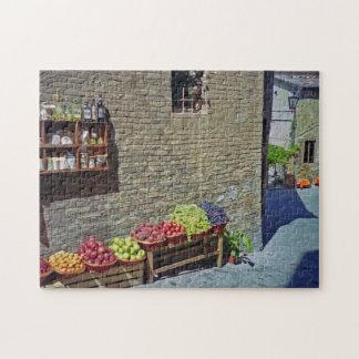Wunderlicher Straßen-und Frucht-Speicher Siena Puzzle