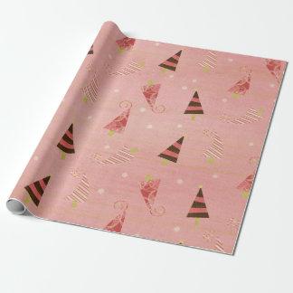 Wunderliches Chrsitmas Baum-Packpapier Geschenkpapier