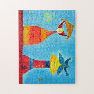 Wunderliches Foto-Puzzlespiel der Liebe-11x14 mit Puzzle
