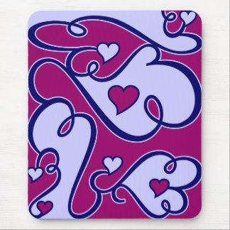 Wunderliches Herzen mousepad