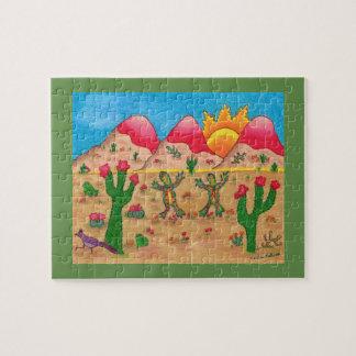 Wunderliches Kunstpuzzlespiel Puzzle
