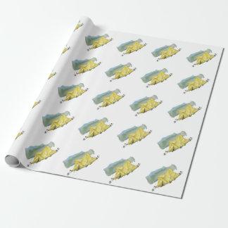 Wunderliches Zelt-Illustrations-Packpapier Geschenkpapier