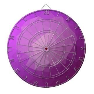Würde-violetter abstrakter niedriger dartscheibe