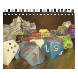 Würfel-Kalender Abreißkalender