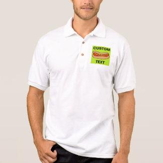 Würstchen fertigen kundenspezifisch an polo shirt