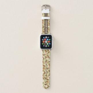 Wüsten-Tarnung Apple Watch Armband