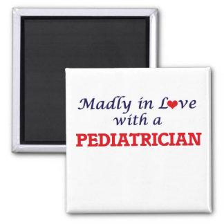 Wütend in der Liebe mit einem Kinderarzt Quadratischer Magnet