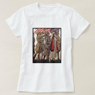 WWI Frauen, die Werbeoffiziere pflegen T-Shirt