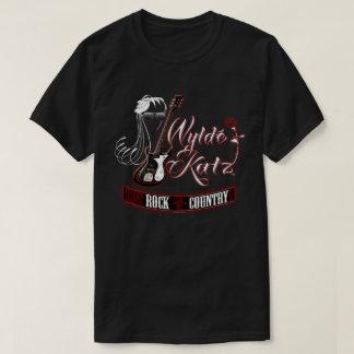 Wylde Katz Band heißer Rockin T - Shirt