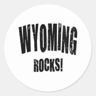 Wyoming-Felsen! Stickers